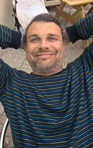 Dr Alessandro Lanfranchi, carbonate sedimentologist, geologist
